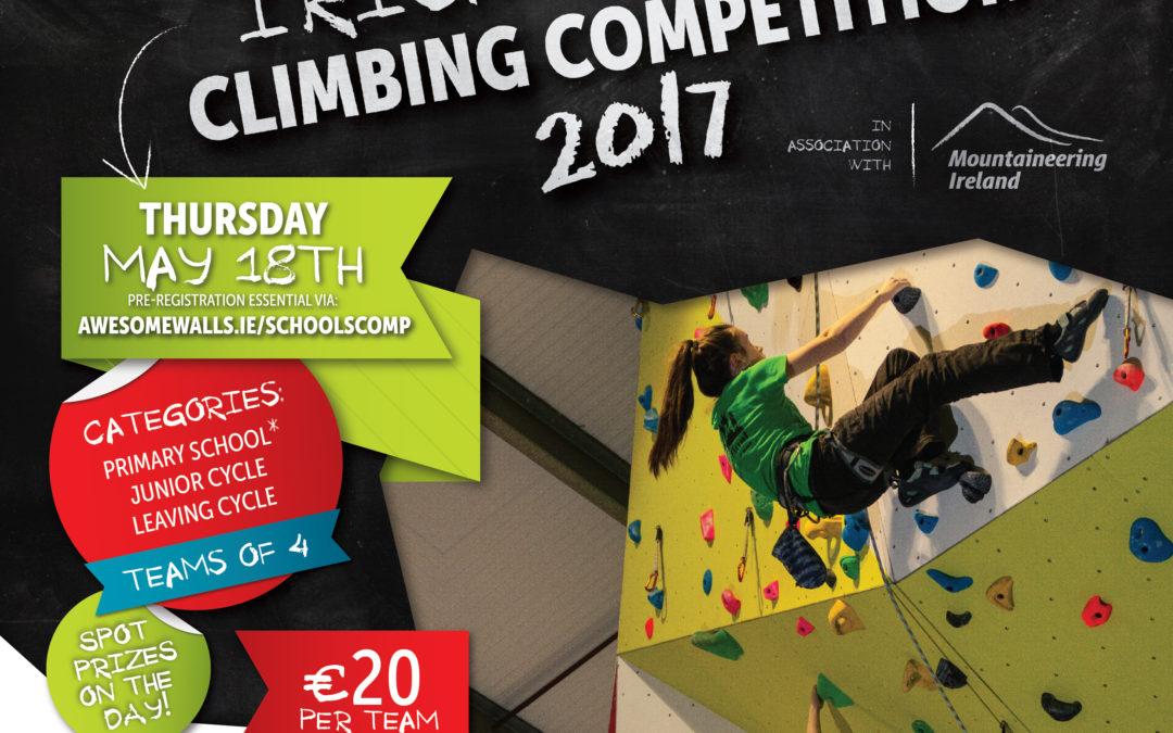 Irish Schools Climbing Competition 2017